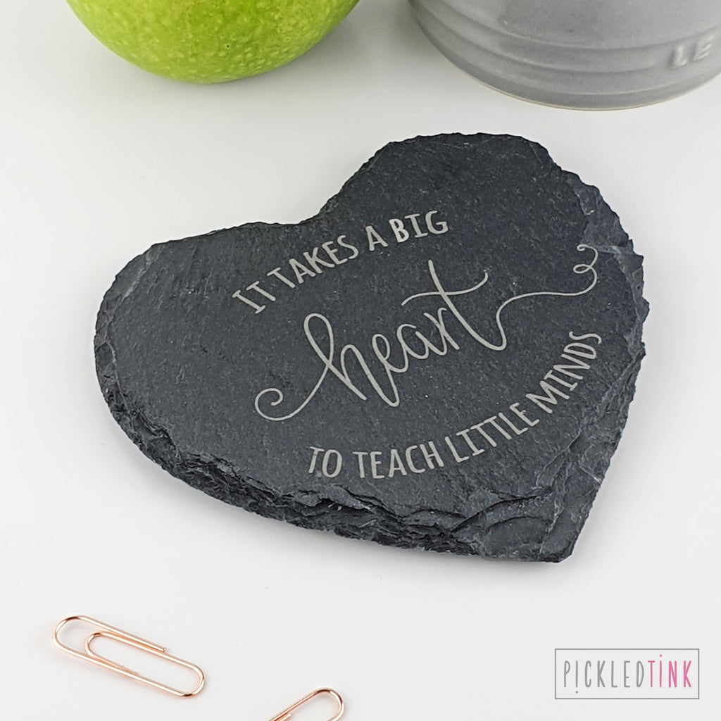 Teacher Slate Coaster