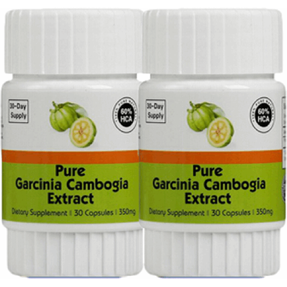 2 Pack Pure GARCINIA CAMBOGIA Weight Loss HCA 75%  Body Kingdom Shop