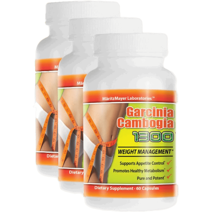 Body Kingdom Shop 3 Pack PURE Garcinia Cambogia Weight Loss Extract 60%