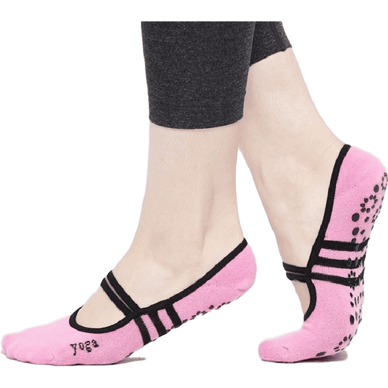 Body Kingdom Shop Pink / Free size Yoga Socks low cut