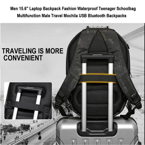 Travel With Easy USB Bluetooth Backpack