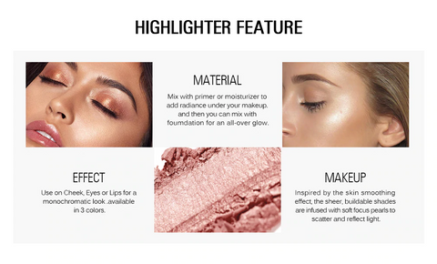 Highlighter Powder Makeup Illuminator