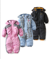 Windproof  baby girl baby boys snowsuit
