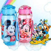 Cartoon Straw Bottle