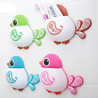 Cute Bird Pattern Tooth Brush Holder