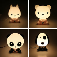 Plastic Baby Bedroom Lamps Night Light