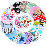 5 pairs Reusable Waterproof  Breast Nursing Pad,12cm