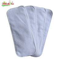 Baby Diaper Washable Cloth Diaper Inserts 5pcs