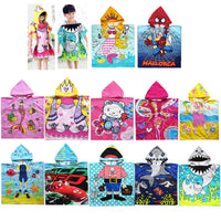 12 style cartoon cloak towel