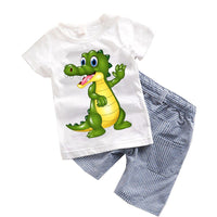 2PCS  Boy Summer Sets