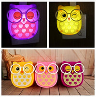 Cartoon Owl Light