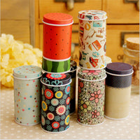 Mini Cute Cartoon Tin Storage Containers
