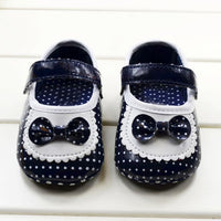 Baby Girls Soft PU Leather Shoes