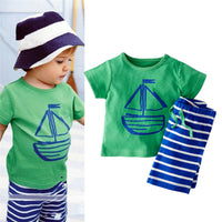 2 PCS Summer Clothing Set