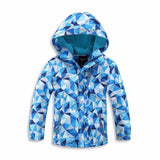 Waterproof Windproof Boys Girls Jackets 3-12T