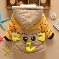 Baby Boys Girls Elephant Coat