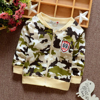 Baby Boy Camouflage Knit Jacket