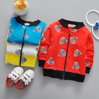 Boys diamond zipper jacket