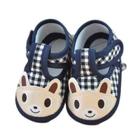 Girl Boy Soft Sole Crib Shoes
