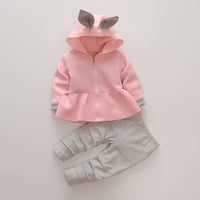 12M-4T Girls Lovely rabbit set