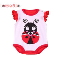 10 Styles Short Sleeve Cotton Baby Rompers