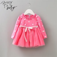 Baby Beautiful Bow Dress 0-2T