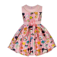 2-6 year summer print dress