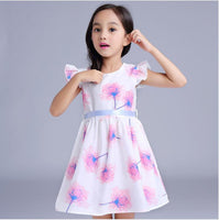 2-6 year flower dress