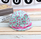 Cute Cherry Print Baby Girl Hat 8-24M