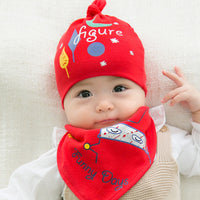 2Pc Hat+Bib