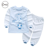 2 Pcs Cute Baby Cartoon Cat Set 5 styles
