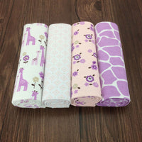 4pcs Baby bed sheet flat sheet 76x76cm