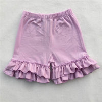 Cotton Ruffle Baby Shorts