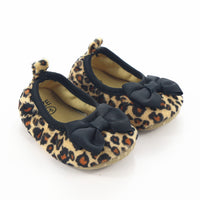 Leopard Girls Indoor Slippers