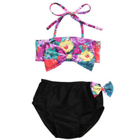 2PCS Flower Bikini Set