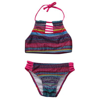 Baby Girls Tankini Striped