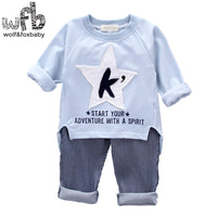 1-4 years long sleeves shirt + pants 4 STYLES