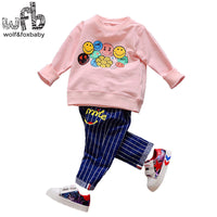 1-4 years long sleeves shirt + pants 6 STYLES