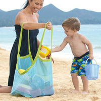 Children Beach Toys mesh Storage Bag 2 Colors