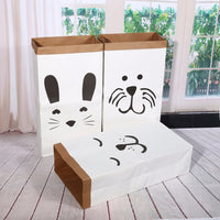 Cartoon Heavy Kraft Paper Storage Bag