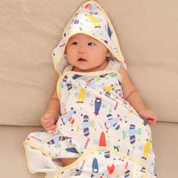 Cotton Baby Blanket Envelope Swaddle