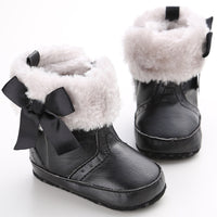 Baby Girl Soft Soled Warm Booties