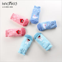 3 pairs Cartoon Cute Soft Cotton Girls Boys Baby Sock