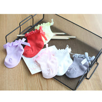 girl Cotton lace ankle Socks