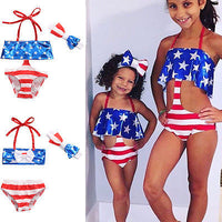 3PCS Baby &Toddler Girls Stripe Bikini