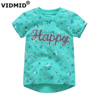 NEW MAY 22 Girls T-shirts Cartoon 100% Cotton 12 STYLES