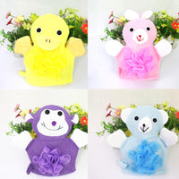 1Pc Cute Animal Shape Cotton Bath Brush