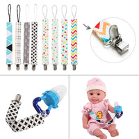 NEW 4pcs Baby Pacifier Clip Chain