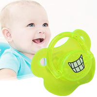 NEW Baby Pacifier Noctilucent Teeth Pattern