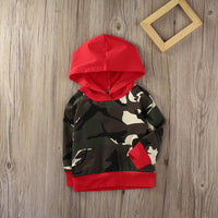 NEW Baby Boys Camouflage Hoodie 0-24M